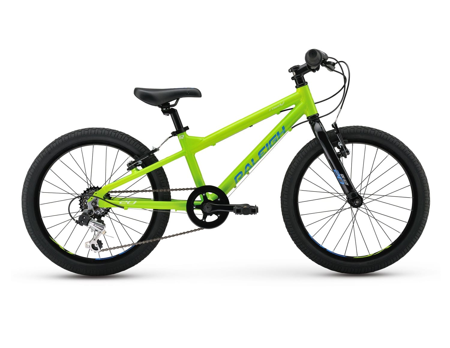 2017 Raleigh Rowdy 20 Boys 20 Green Green Mountain Bikes